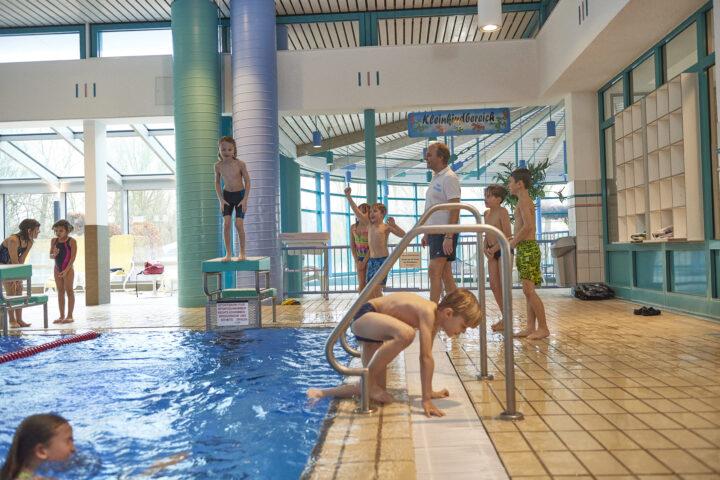 Anfängerschwimmen Sommerferien