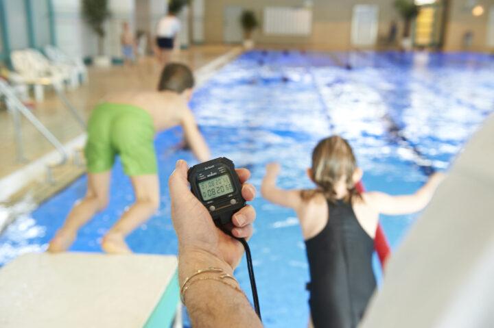 Schwimmtraining für Kinder